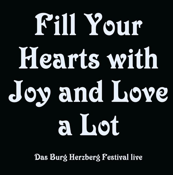 Fill Your Hearts With Joy And Love A Lot - CD